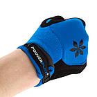 Велорукавички PowerPlay 5284 D Блакитні S, фото 5