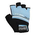 Перчатки для фитнеса и тяжелой атлетики Power System Fit Girl Evo PS-2920 Blue S, фото 4