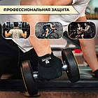 Перчатки для тяжелой атлетики Power System X1 Pro FP-01 Black/Brown XXL, фото 4