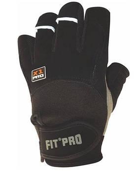 Перчатки для тяжелой атлетики Power System X1 Pro FP-01 Black XS