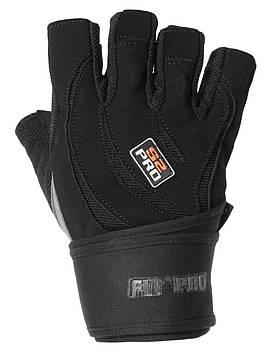 Рукавички для важкої атлетики Power System S2 Pro FP-04 Black XL