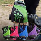 Велорукавички PowerPlay 5281 D Фіолетові XS, фото 7