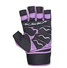 Перчатки для фитнеса и тяжелой атлетики Power System Rebel Girl PS-2720 L Purple, фото 4