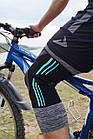 Эластический наколенник Power System Knee Support Evo PS-6021 M Black/Blue, фото 8