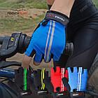 Велорукавички PowerPlay 5031 B Червоні XL, фото 9