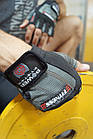 Перчатки для фитнеса и тяжелой атлетики Power System Fitness PS-2300 XXL Grey/Black, фото 10