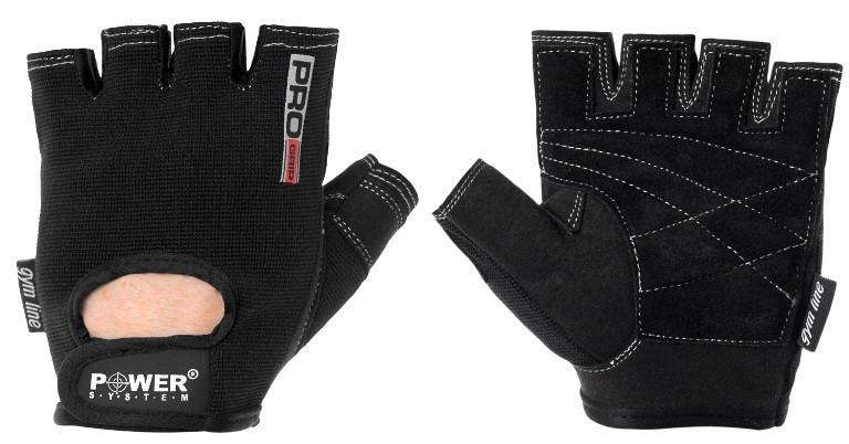 Перчатки для фитнеса и тяжелой атлетики Power System Pro Grip PS-2250 S Black