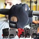 Перчатки для фитнеса и тяжелой атлетики Power System Pro Grip PS-2250 S Black, фото 6
