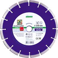 Алмазный отрезной диск по бетону Distar 1A1RSS/C3-W 230x2,6/1,8x22,23-16-ARP 38x2,6x8+2 R105 Super