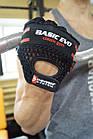 Перчатки для фитнеса и тяжелой атлетики Power System Basic EVO PS-2100 XS Black/Red Line, фото 9