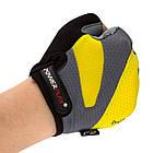 Велорукавички PowerPlay 5004 D Жовті L, фото 3