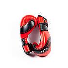 Боксерські рукавиці PowerPlay 3023 Червоно-Чорні [натуральна шкіра] 10 унцій, фото 7