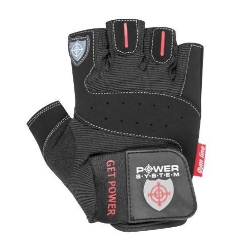 Перчатки для фитнеса и тяжелой атлетики Power System Get Power PS-2550 M Black