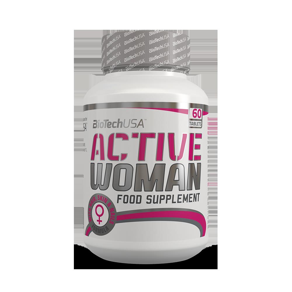 Витамины и минералы для женщин BioTech Active Women (60 tabs)