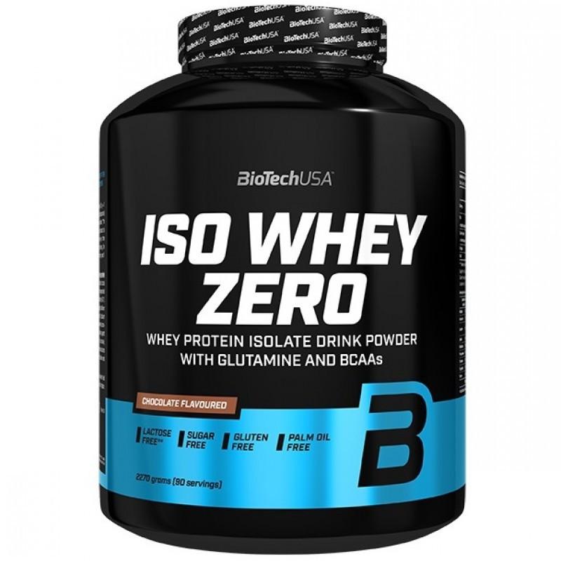 Протеин BioTech Iso Whey Zero Lactose Free (2.27 kg)