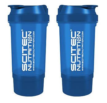 Шейкер Scitec Nutrition Traveler Shaker (500ml blue)