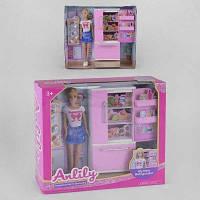 Кукла с холодильником и аксессуарами SKL11-278920
