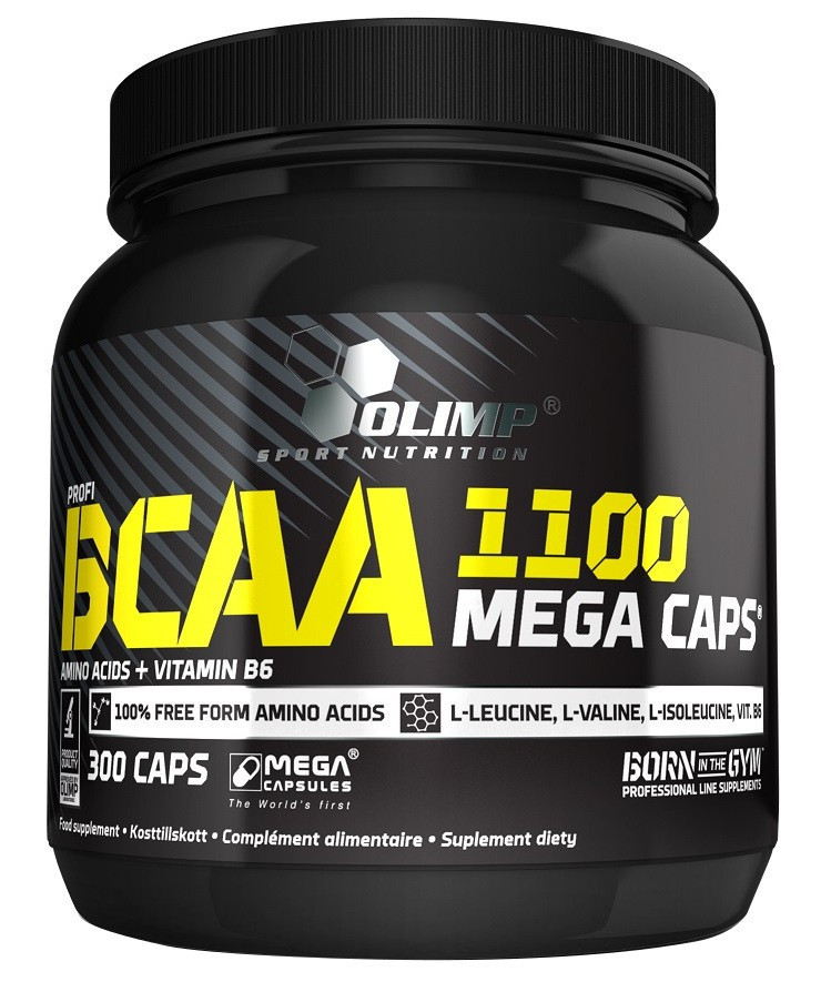 Olimp BCAA Mega Caps  300 капсул
