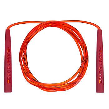 Скакалка с PVC жгутом PL-3450 (l-2,8м,d-5,2мм) (чорна)