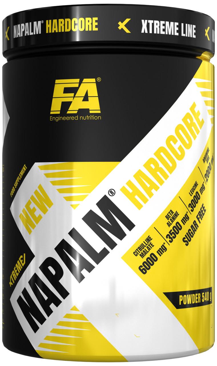 Предтренировочник Fitness Authority Napalm HARDCORE  ( 540 g)