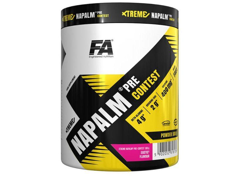 Предтренировочник fitness authority xtreme napalm pre-contest ( 224 g)