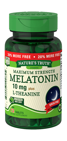 Витамины и минералы Nature's Truth Melatonin 10 mg (72 tab)