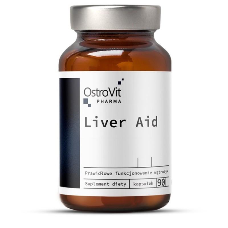 Витамины и минералы Ostrovit Pharma Liver Aid (90 caps)