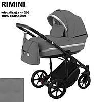Коляска 2 в 1 Adamex Rimini ECO кожа 100% RI-209