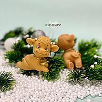 Мыло ручной работы Яшка в счастье Год Быка Новогодний сувенир