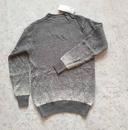Молодёжный и детский вязаный свитер с медведем размеры M,L,XL,XXL, фото 2