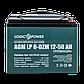 Тяговый свинцево-кислотный аккумулятор LP 6-DZM-50, фото 2