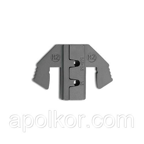 Змінні губки для кліщів обтискача клем (тип H2) TOPTUL DLAH2016