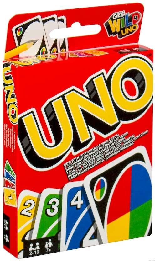 Настольная игра Mattel Уно (UNO) (W2085)