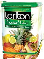 """Чай зеленый Тарлтон """"Тропические фрукты"""" 250гр, ж/б"""