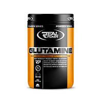Аминокислота Real Pharm Glutamine, 500 грамм Лимон