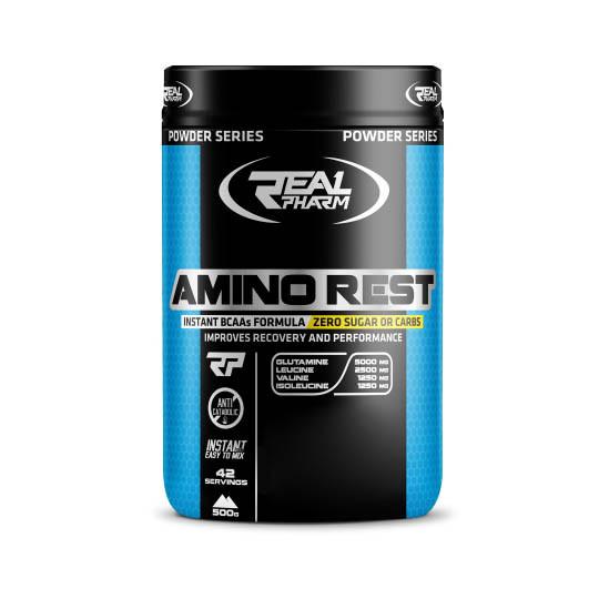 Аминокислота Real Pharm Amino Rest, 500 грамм Манго-ананас