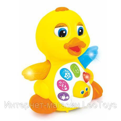 Игрушка Hola Toys Желтый утенок (808)