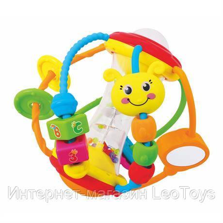 Погремушка Hola Toys Веселый мячик (A929)