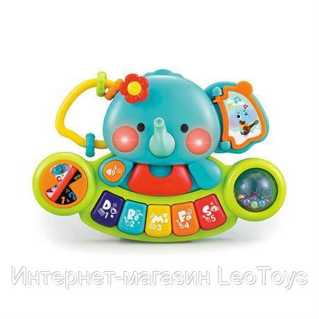 Музыкальная игрушка Hola Toys Пианино-слоник (A3135)