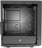 Корпус 1stPlayer D8-A-R1 Color LED Black без БП, фото 4