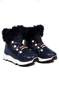 Ботинки детские девочка темно-синие GFB 126739P