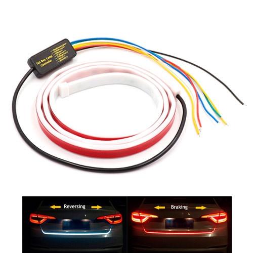 LED динамическая подсветка багажника 120см 12В водонепроницаемая 2012-00824