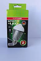 Лампа энергосберегающая А60 Alum LED 8W + датчик движения 360˚