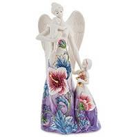"""Фарфоровая статуэтка """"Ангел и дети"""" (Pavone) JP-98/49"""
