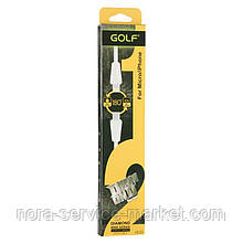 USB Cable Diamond Golf 2in1 Lightning/MicroUSB White (GC-27s)