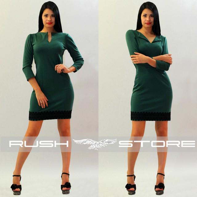 Купить платье с кружевом