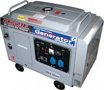 Трехфазный дизельный генератор GLENDALE  DP6500L-SLE/3 АВТОЗАПУСК (5 кВт)