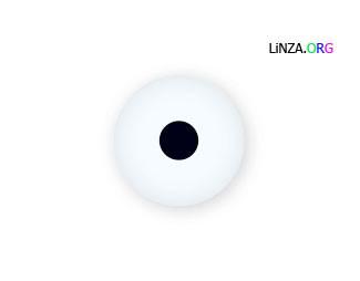 Линза с зрачком 5 мм (косметичкеская)