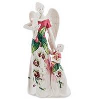 """Фарфоровая статуэтка """"Ангел и дети"""" (Pavone) JP-98/53"""