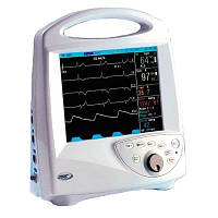 Монитор реанимационно-хирургический ЮМ-300Т ЧСС, ЭКГ, ЧД, Sр02, АД (неинвазивний метод), t